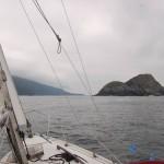 Approaching Solander Island ER