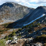 Steep alpine area.