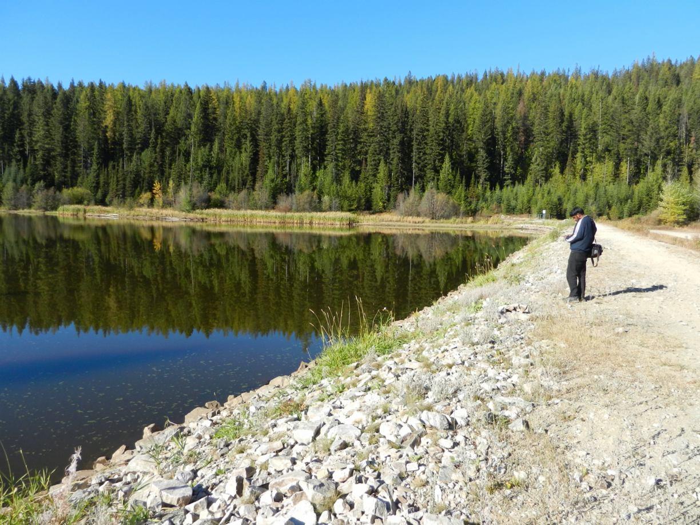 Okanagan Lake Dam The Dam at Browne Lake