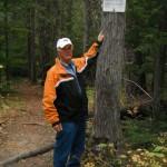 Ecological Reserve Warden Rick Fairbairn.