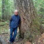 Garry and an old growth Douglas fir.