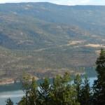 View to western end of Cougar Canyon ER on Kalamalka Lake.