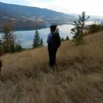 Roseanne Van Ee looking over Kalamalka Lake