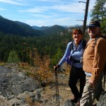Dennis Seymour and Roseanne van Ee, Ecological Reserve Wardens for Cougar Canyon ER.
