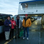 ER15 158 Marilyn Lambert, Louise Beinhauer, Rick Page, Mike Fenger on the ferry