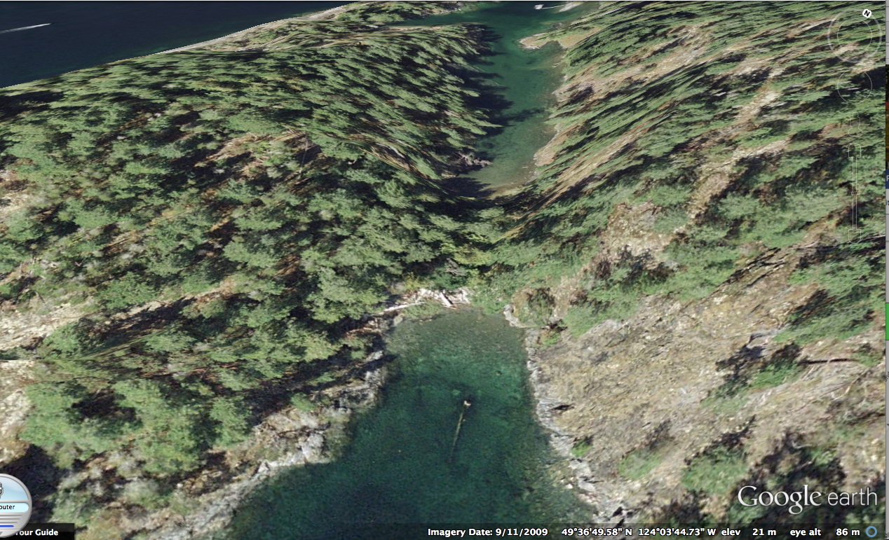 Francis Point Ecological Reserve 153 Google Earth Images