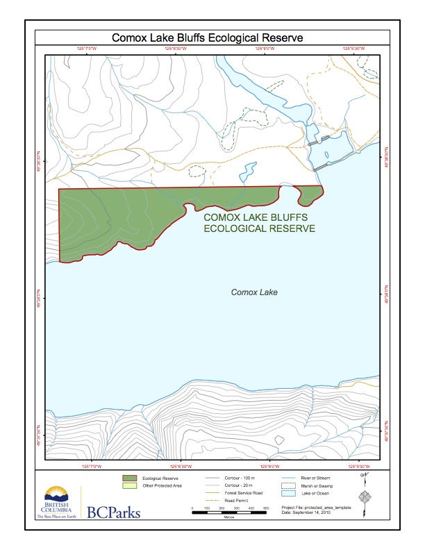 comox_lake_bluffs_map