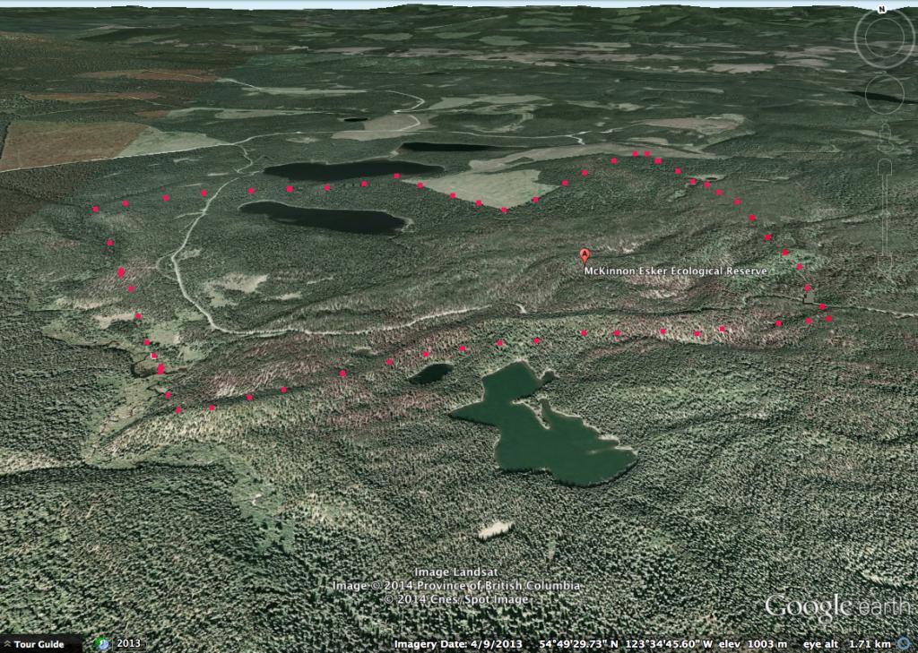 mackinnon-esker googlemap3D